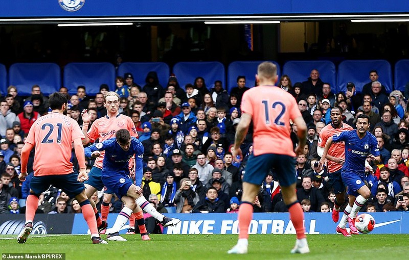 Vùi dập Everton tại Stamford Bridge, Chelsea giữ vững tốp 4 - ảnh 2