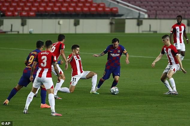Thắng khó Athletic Bilbao, Barcelona tái chiếm ngôi đầu - ảnh 2