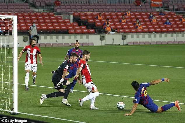 Thắng khó Athletic Bilbao, Barcelona tái chiếm ngôi đầu - ảnh 4