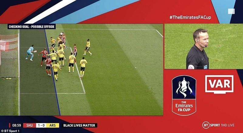 Arsenal nhọc nhằn vào bán kết FA Cup - ảnh 1