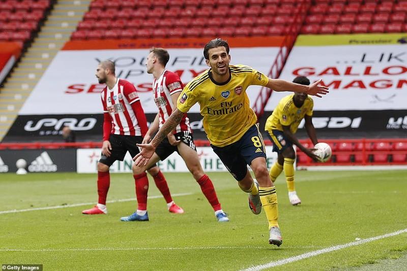 Arsenal nhọc nhằn vào bán kết FA Cup - ảnh 5