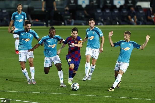 Thua sốc cuối trận, Barcelona chính thức thành cựu vương - ảnh 2