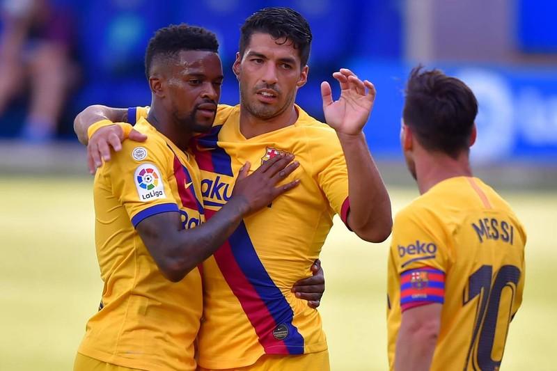 Messi lập cú đúp, Barca hạ màn La Liga bằng chiến thắng 5 sao - ảnh 4