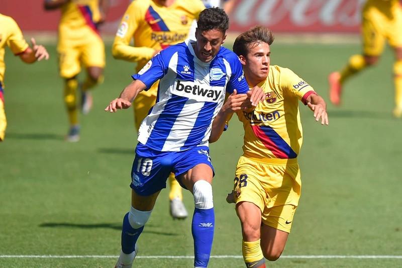 Messi lập cú đúp, Barca hạ màn La Liga bằng chiến thắng 5 sao - ảnh 5