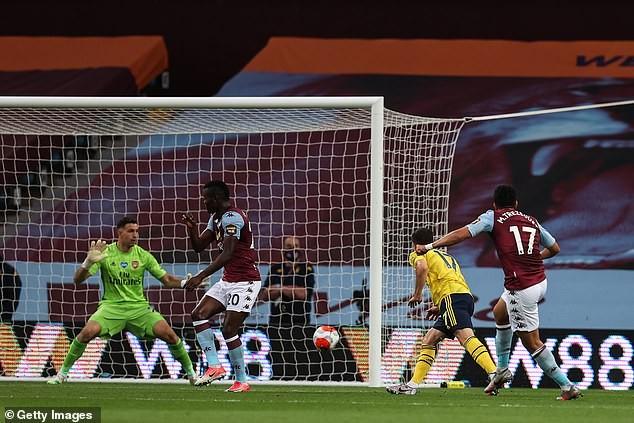 Cột dọc cứu thua, Aston Villa bất ngờ đánh bại Arsenal  - ảnh 2