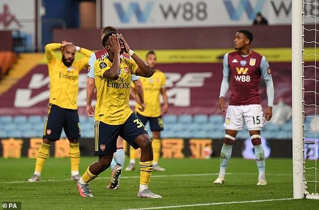 Cột dọc cứu thua, Aston Villa bất ngờ đánh bại Arsenal  - ảnh 5