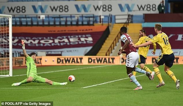 Cột dọc cứu thua, Aston Villa bất ngờ đánh bại Arsenal  - ảnh 3