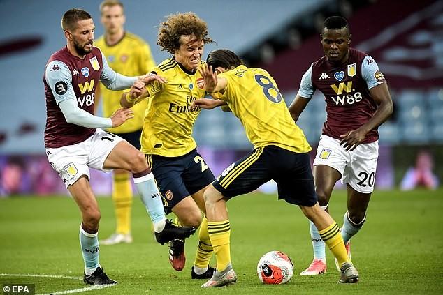Cột dọc cứu thua, Aston Villa bất ngờ đánh bại Arsenal  - ảnh 1