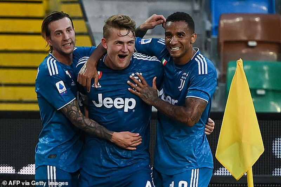 Ronaldo tịt ngòi, Juventus thua ngược Udinese phút bù giờ - ảnh 2
