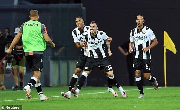 Ronaldo tịt ngòi, Juventus thua ngược Udinese phút bù giờ - ảnh 3