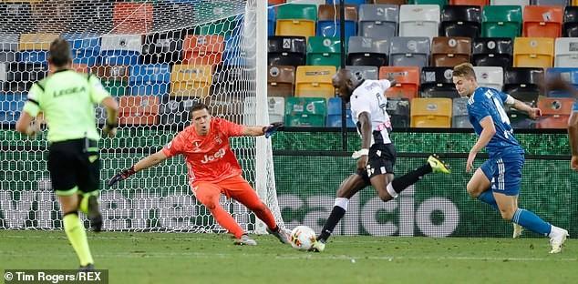 Ronaldo tịt ngòi, Juventus thua ngược Udinese phút bù giờ - ảnh 4