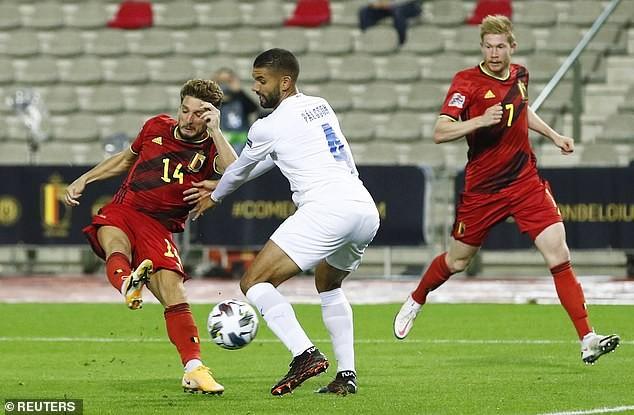 Bỉ thắng tưng bừng 5 sao, tuyển Anh hòa kịch tính Đan Mạch - ảnh 1
