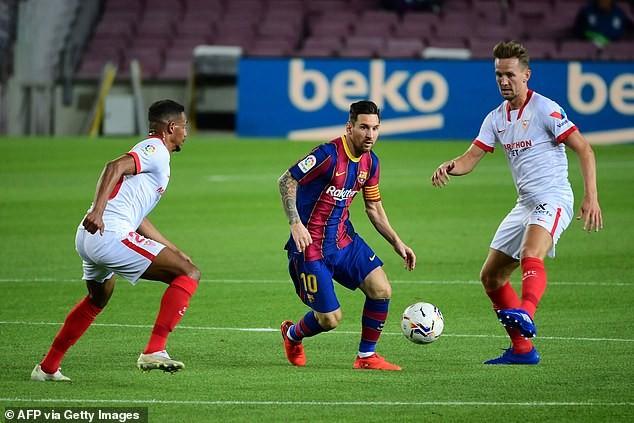 Ghi bàn sớm, Barcelona và Sevilla chia điểm tại Nou Camp - ảnh 3