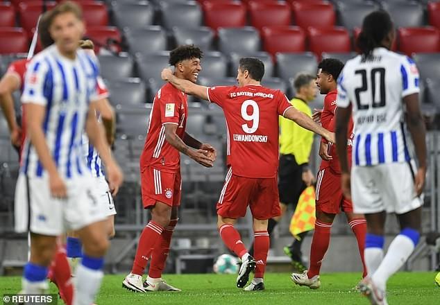 Lewandowski lập poker, Bayern thắng nghẹt thở phút bù giờ - ảnh 5
