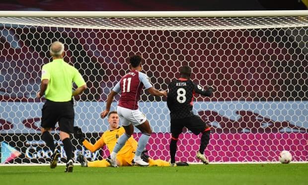 Liverpool bị hạ nhục với tỉ số không tưởng tại Villa Park - ảnh 1