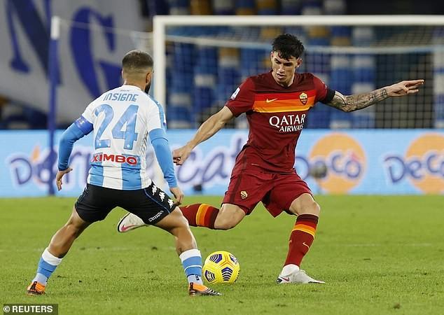 Napoli 'hủy diệt' AS Roma trong trận đấu tưởng nhớ Maradona  - ảnh 5