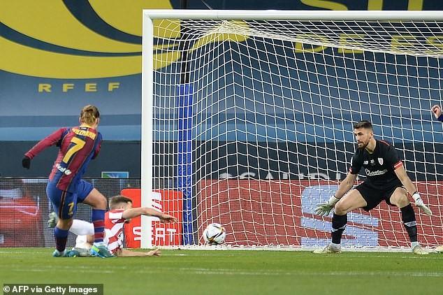 Messi nhận thẻ đỏ, Barca nhìn Bilbao lên ngôi vô địch - ảnh 1