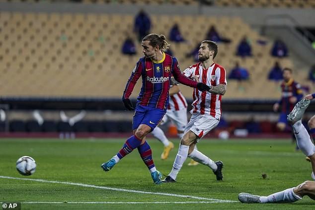 Messi nhận thẻ đỏ, Barca nhìn Bilbao lên ngôi vô địch - ảnh 3
