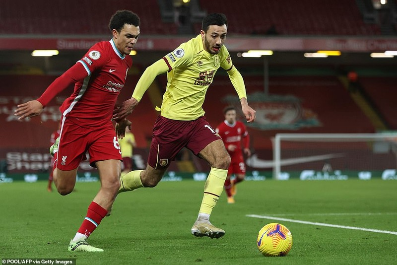 Thua sốc Burnley, Liverpool nguy cơ văng khỏi Top 4  - ảnh 1