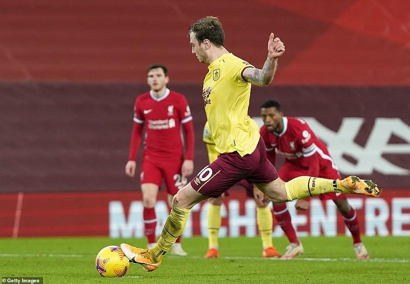 Thua sốc Burnley, Liverpool nguy cơ văng khỏi Top 4  - ảnh 5