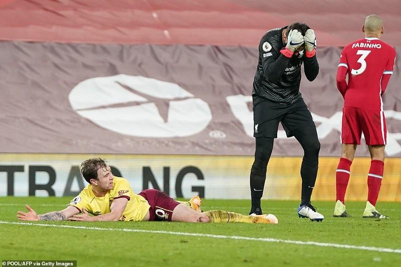 Thua sốc Burnley, Liverpool nguy cơ văng khỏi Top 4  - ảnh 4