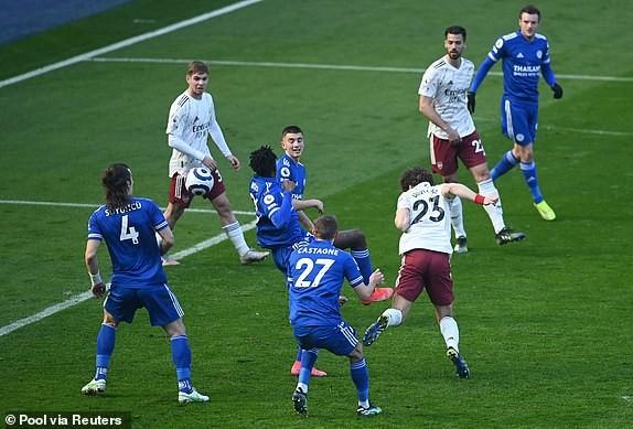 Arsenal ngược dòng đánh bại Leicester City - ảnh 3