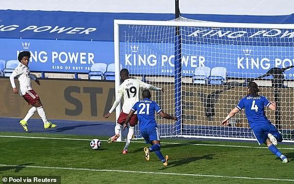 Arsenal ngược dòng đánh bại Leicester City - ảnh 6