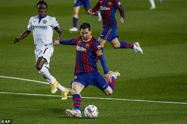 Messi bùng nổ, Barcelona thắng đậm Getafe - ảnh 1