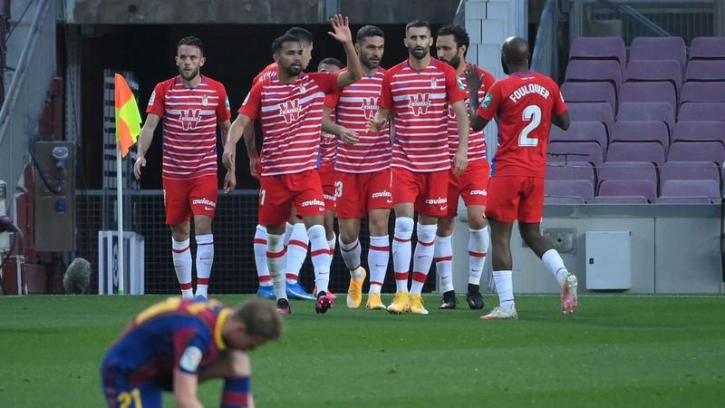 Thua sốc Granada, Barcelona mất cơ hội lên ngôi đầu La Liga - ảnh 2