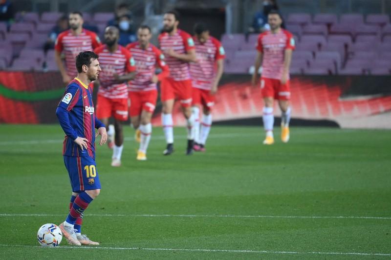 Thua sốc Granada, Barcelona mất cơ hội lên ngôi đầu La Liga - ảnh 3