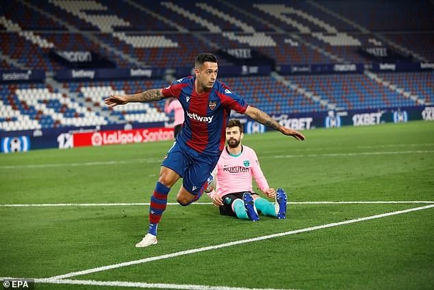 Barcelona đánh rơi điểm, Koeman thừa nhận khó vô địch La Liga - ảnh 2