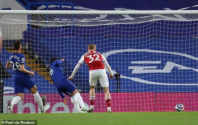 Chelsea trắng tay trước Arsenal ngay trên sân Stamford Bridge - ảnh 1