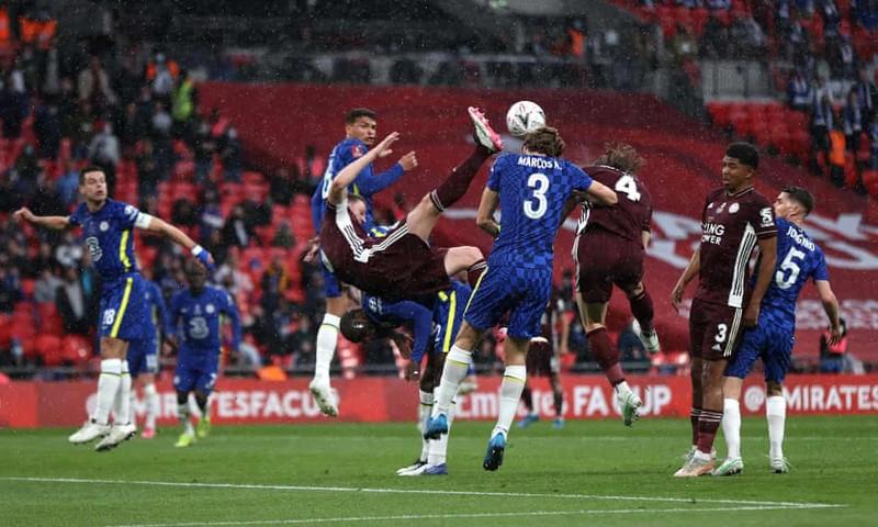 VAR cứu thua, Leicester City hạ Chelsea vô địch FA Cup - ảnh 1