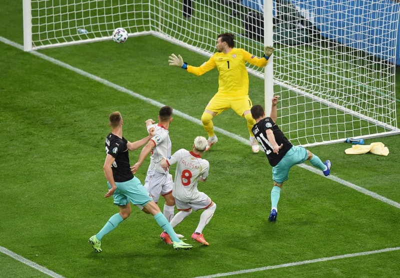 Áo - Bắc Macedonia (3-1): Dấu ấn của những cầu thủ dự bị - ảnh 1