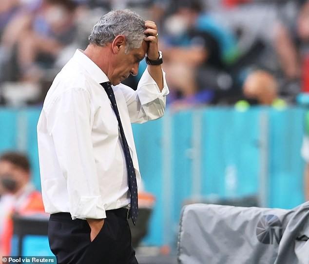 Bồ Đào Nha thua sốc, HLV Santos nhắn tin chúc mừng thủ tuớng Đức - ảnh 1