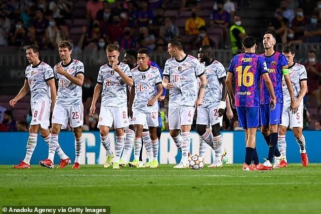 Lewandowski lập cú đúp, Bayern Munich hạ Barcelona trên sân Nou Camp - ảnh 2