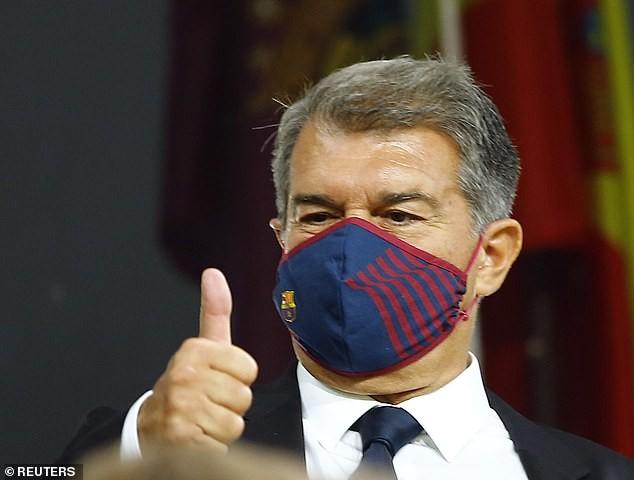 Barcelona hòa Cadiz, chủ tịch Laporta cảnh báo HLV Koeman - ảnh 3