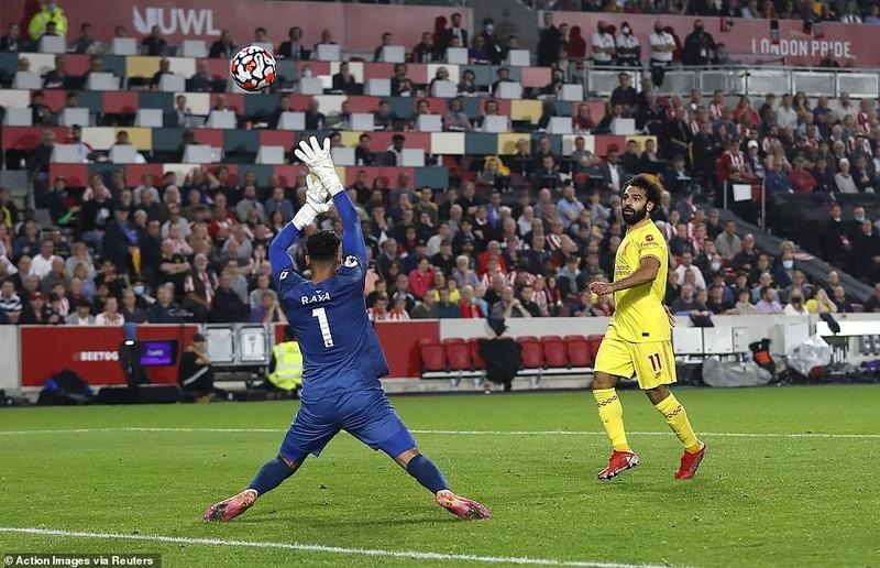 Liverpool chật vật chia điểm Brentford trong cơn mưa bàn thắng - ảnh 5