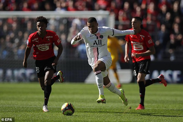 Messi, Neymar và Mbappe cùng ra sân nhưng PSG vẫn thua  - ảnh 4