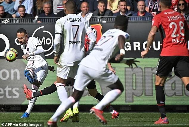 Messi, Neymar và Mbappe cùng ra sân nhưng PSG vẫn thua  - ảnh 1
