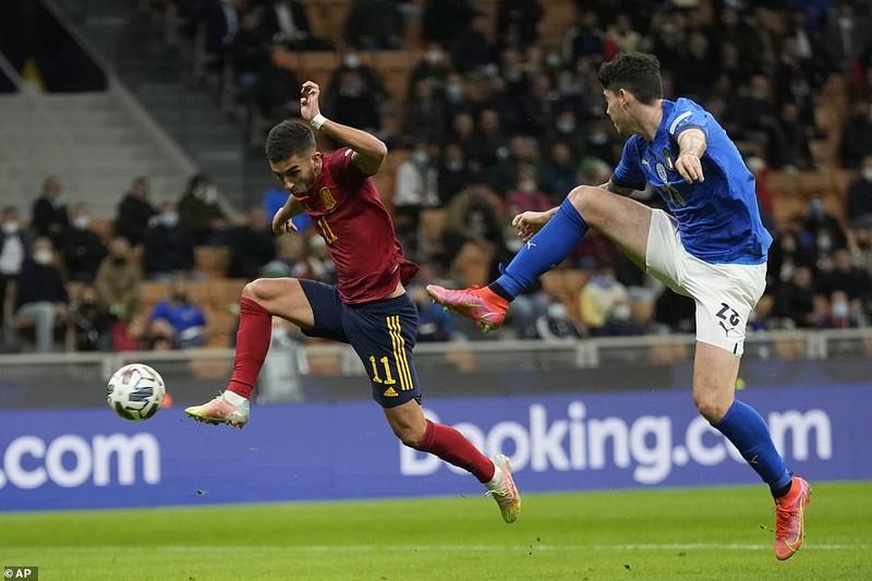 Hạ tuyển Ý tại San Siro, Tây Ban Nha giành vé vào chung kết Nations League - ảnh 1