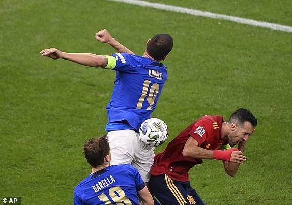 Hạ tuyển Ý tại San Siro, Tây Ban Nha giành vé vào chung kết Nations League - ảnh 2