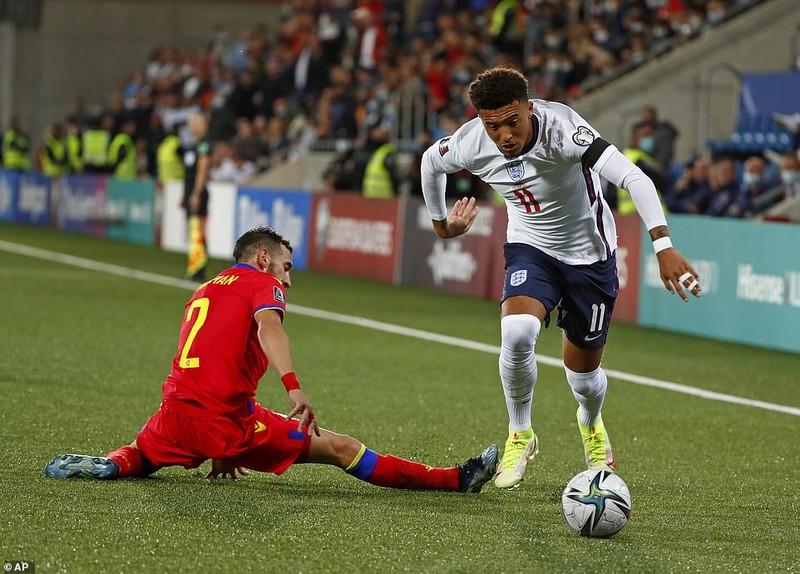 Harry Kane và Sterling dự bị, tuyển Anh vẫn thắng đậm chủ nhà Andorra - ảnh 1