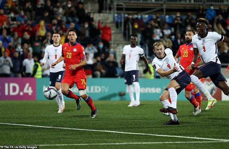 Harry Kane và Sterling dự bị, tuyển Anh vẫn thắng đậm chủ nhà Andorra - ảnh 4