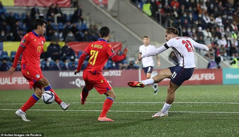 Harry Kane và Sterling dự bị, tuyển Anh vẫn thắng đậm chủ nhà Andorra - ảnh 5