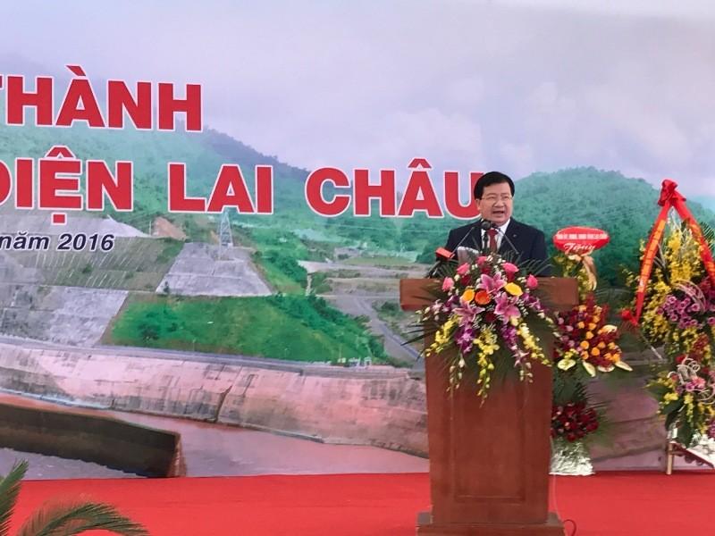 Khánh thành thủy điện Lai Châu trước một năm - ảnh 2