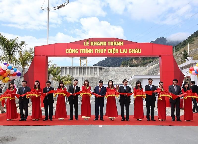 Khánh thành thủy điện Lai Châu trước một năm - ảnh 1