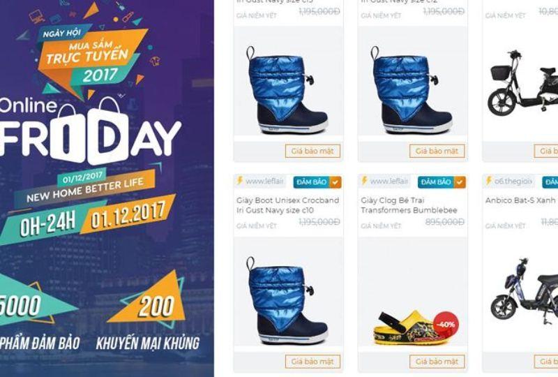 Nhiều sản phẩm giảm giá sốc ngày Online Friday 1-12 - ảnh 1