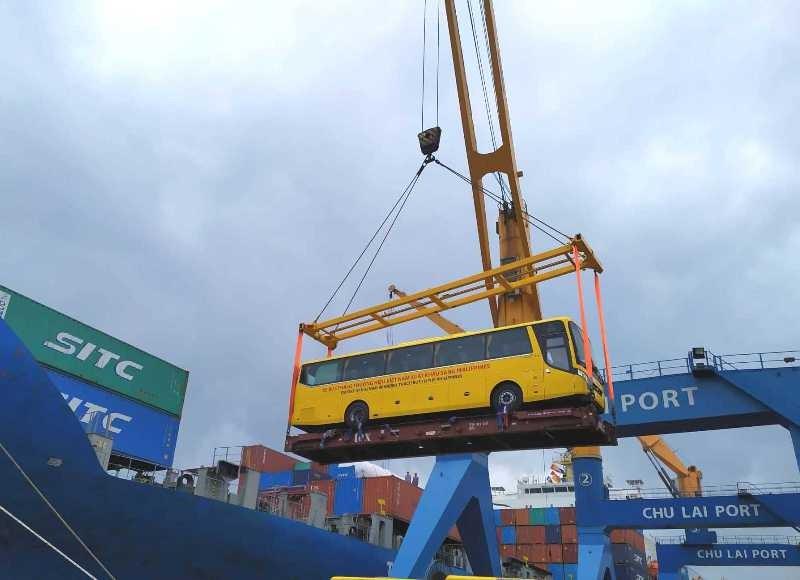 Thương hiệu ô tô Việt đầu tiên xuất khẩu sang Philippines - ảnh 1