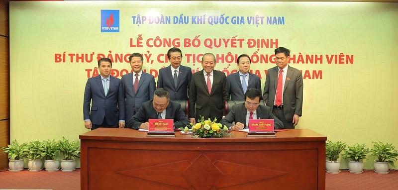 Phó Thủ tướng trao quyết định bổ nhiệm Chủ tịch PVN - ảnh 2
